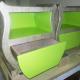 Cardboard furnitures: bedside table/chest