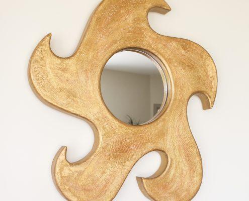 Cardboard accessories: mirror