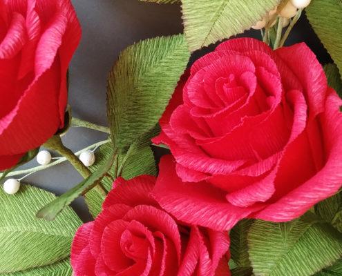 Fleurs en papier pour votre décoration d'intérieur